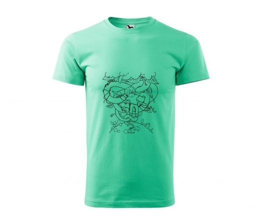 Men's T-shirt Jack and the Beanstalk