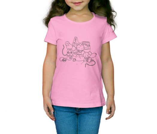 Children's T-shirt The Town Mouse and the Country Mouse