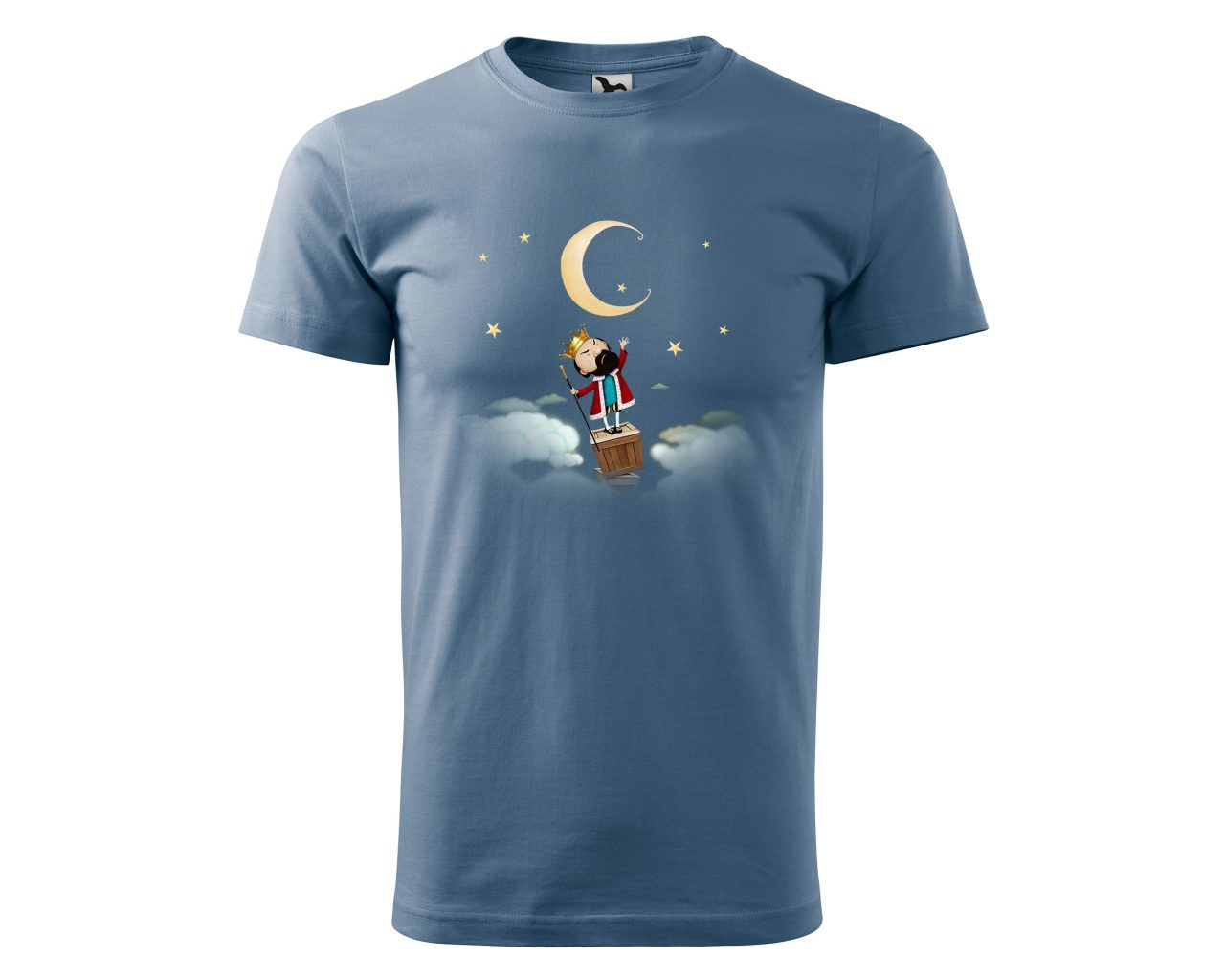 Colored men's T-shirt The King's Tower